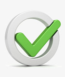 Direct Response Media Group Mail Marketing Checkmark Icon